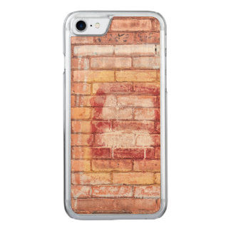 Brick downpipes carved iPhone 7 case