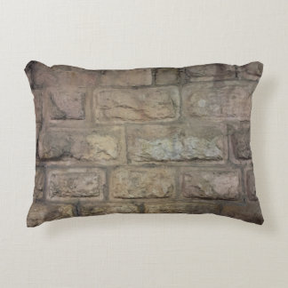 "Brick Grade A Cotton Accent Pillow 16"" x 12"""