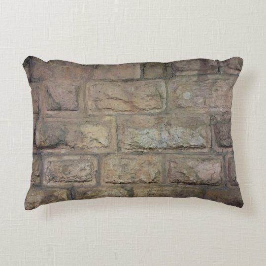 "Brick Grade A Cotton Accent Pillow 16"" x 12"""