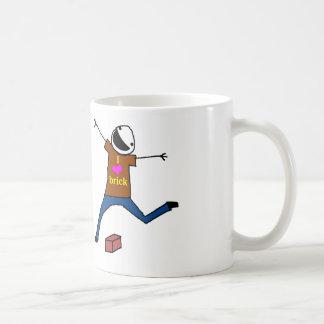 Brick Jumping Coffee Mug