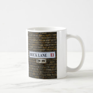 Brick Lane E1 Sign London Mug