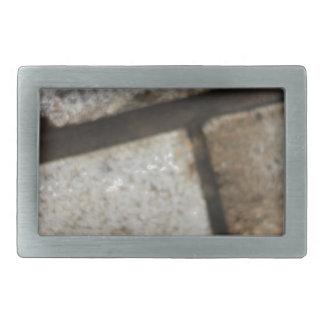 Brick lay background belt buckle