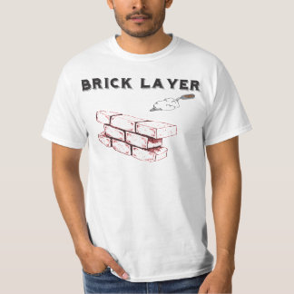 Brick Layer - BAC - Union of Bricklayers T-Shirt
