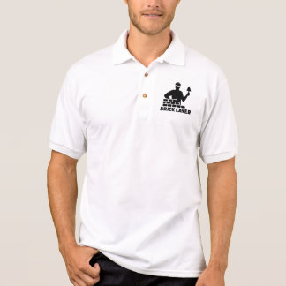 Brick layer polo shirt