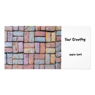 Brick Path Photo Card Template