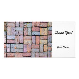 Brick Path Photo Card