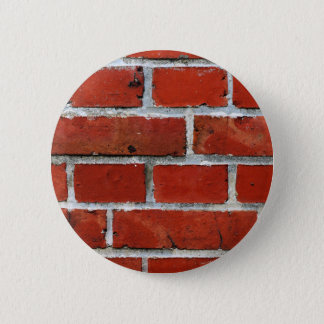 Brick Pattern 2 Inch Round Button