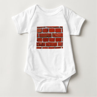 Brick Pattern Baby Bodysuit