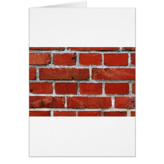 Brick Pattern Card