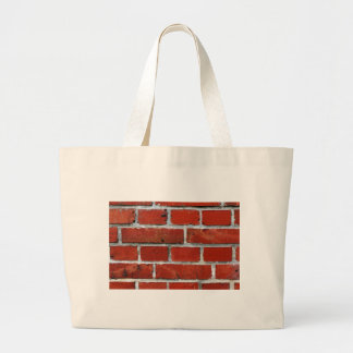 Brick Pattern Large Tote Bag