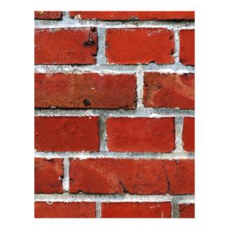 Brick Pattern Letterhead