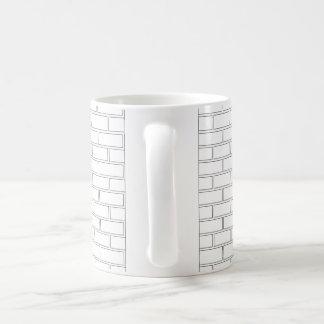 Brick Pattern Mug
