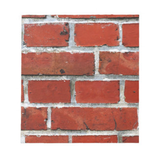 Brick Pattern Notepad