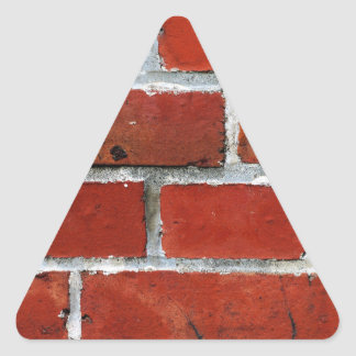 Brick Pattern Triangle Sticker