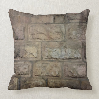 "Brick Polyester Throw Pillow 20"" x 20"""