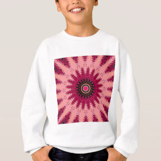 Brick Red Spiral Sweatshirt