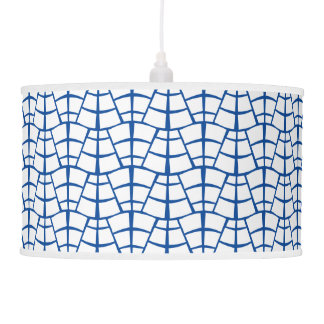 Brick Road Blue & White Pendant Lamp