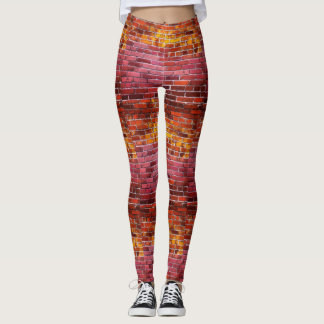 Brick Texture Leggings
