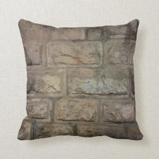 "Brick Throw Pillow, Throw Pillow 16"" x 16"""