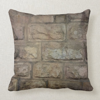 "Brick Throw Pillow, Throw Pillow 20"" x 20"""