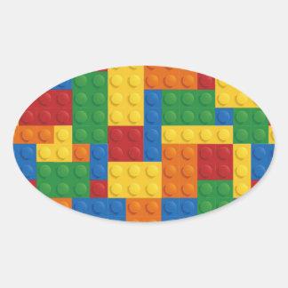 Brick Vector Graphic COLOURFUL RECTANGLES SQU Stickers