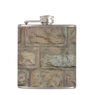 Brick Vinyl Wrapped Flask