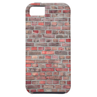 brick wall  background - red vintage stone case for the iPhone 5