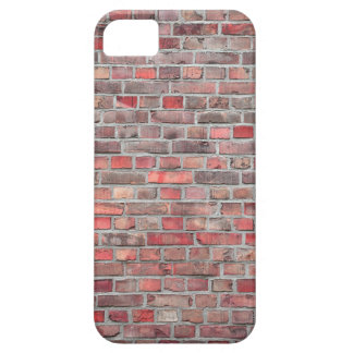 brick wall  background - red vintage stone iPhone 5 covers