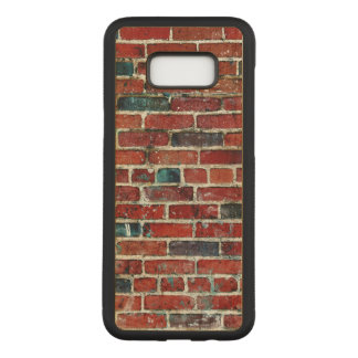 Brick Wall Cool Texture Carved Samsung Galaxy S8+ Case