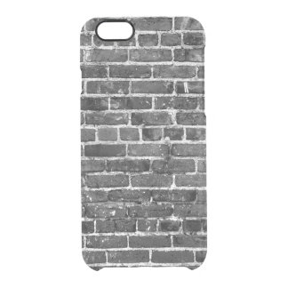 Brick Wall Cool Texture Pattern Clear iPhone 6/6S Case