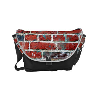 Brick Wall Cool Texture Pattern Commuter Bags