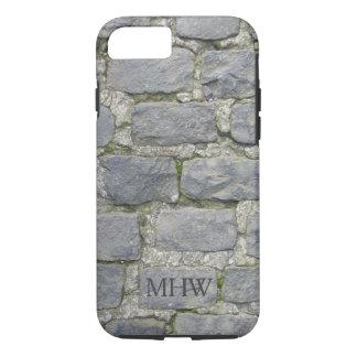 Brick Wall custom monogram phone cases