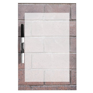 Brick Wall Dry Erase Board