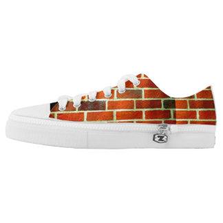 Brick wall, image, sneakers' Low-Top sneakers