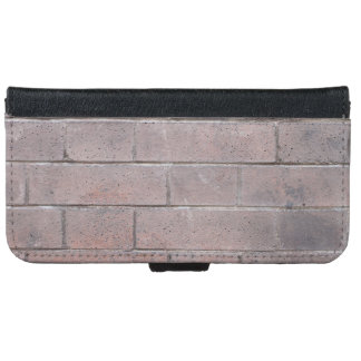 Brick Wall iPhone 6 Wallet Case