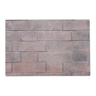 Brick Wall Laminated Place Mat