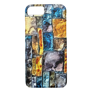 Brick Wall Mosaic iPhone 7 Case