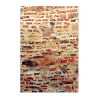Brick Wall Pattern Acrylic Wall Art