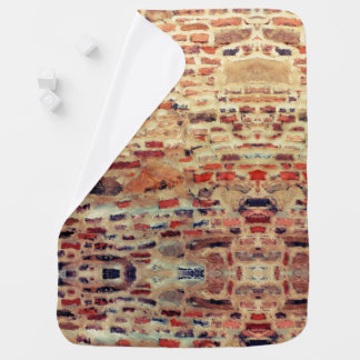 Brick Wall Pattern Baby Blanket