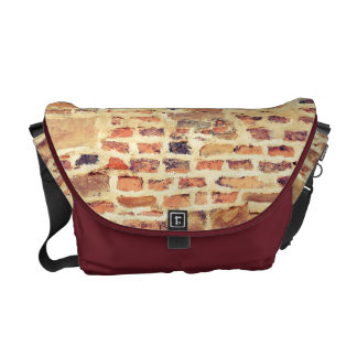 Brick Wall Pattern Courier Bag