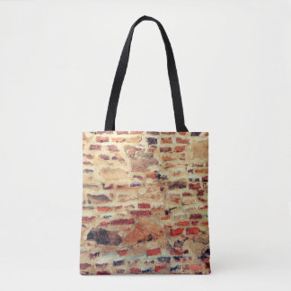 Brick Wall Pattern Tote Bag