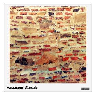 Brick Wall Pattern Wall Decal