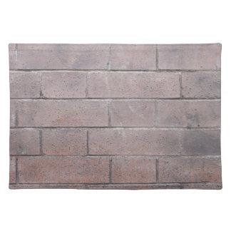 Brick Wall Placemat