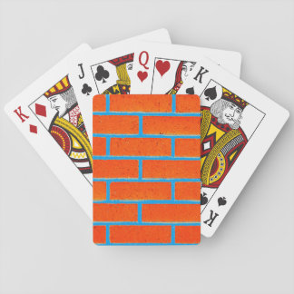 Brick Wall Playing Cards