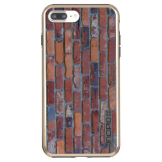 Brick wall - red mixed bricks and mortar incipio DualPro shine iPhone 8 plus/7 plus case