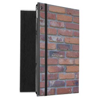 """Brick wall - red mixed bricks and mortar iPad pro 12.9"""" case"""