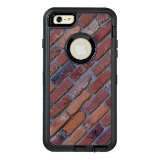 Brick wall - red mixed bricks and mortar OtterBox defender iPhone case