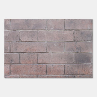 Brick Wall Sign