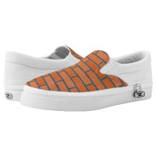 brick wall Slip-On sneakers