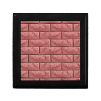 Brick Wall Texture Seamless Background Gift Box